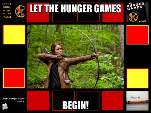 Let the Hunger Games Begin!