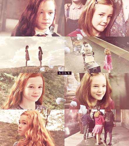 Harry Potter wallpaper containing a portrait entitled Lily Evans and Lily Luna Potter