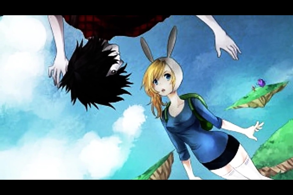 marshall lee and fionna images love in aaa hd wallpaper