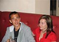 Lukas Rosol with ex wife - tennis photo