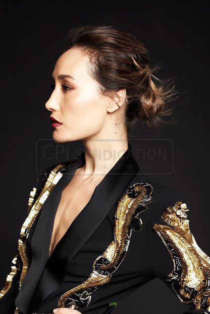 Maggie Q - Audrey Magazine 2012