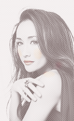 Maggie Q wallpaper with a portrait entitled Maggie Q