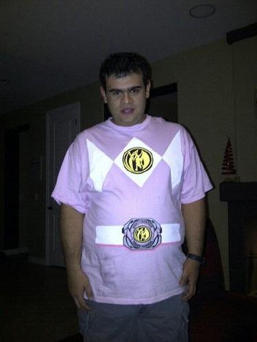 Male 粉, 粉色 Ranger