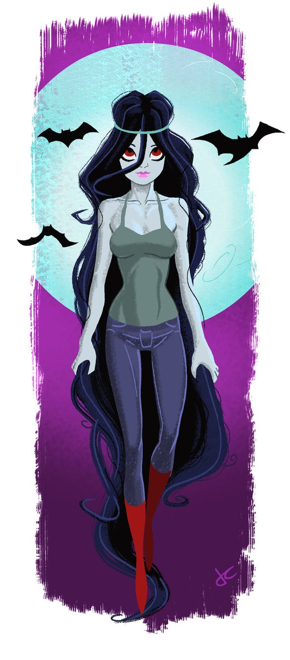 Adventure time marceline anime