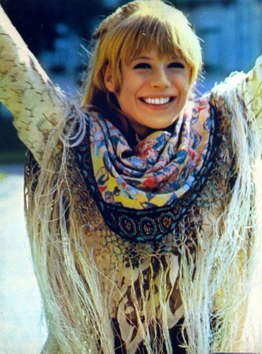 Marianne Faithfull - 1960s-fashion Photo