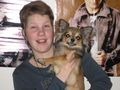 Me and Antti - chihuahuas photo