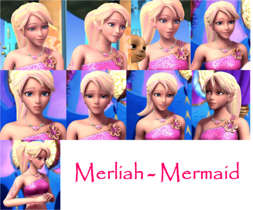Merliah as a mermaid