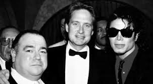 Michael, Manager, Frank DiLeo And Michael Douglas
