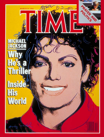 "Michael On The 1984 Issue Of ""TIME"" Magazine"