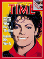 "Michael On The 1984 Issue Of ""TIME"" Magazine - michael-jackson photo"