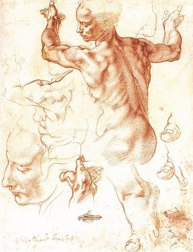 Michelangelo's Drawing for The Libyan Sybil