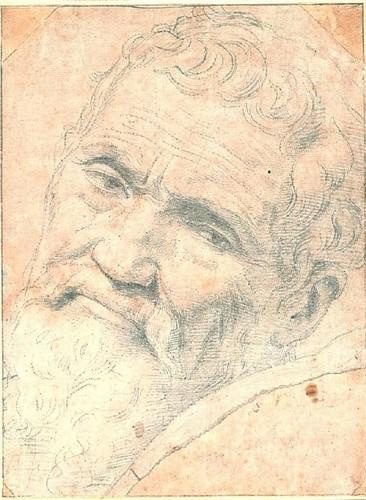 Michelango Portrait Von Volterra