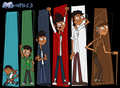 Mike - growing up - total-drama-island fan art