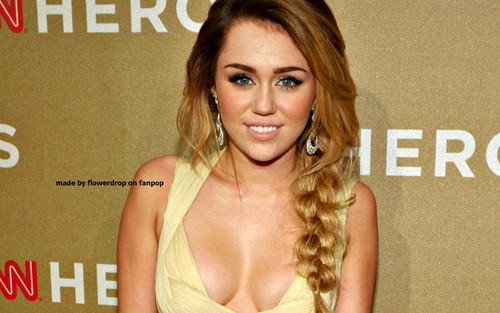 Miley karatasi la kupamba ukuta ❤