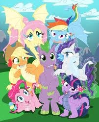 My Little Pony Friendship is Magic wallpaper probably containing anime titled Mlp stuff