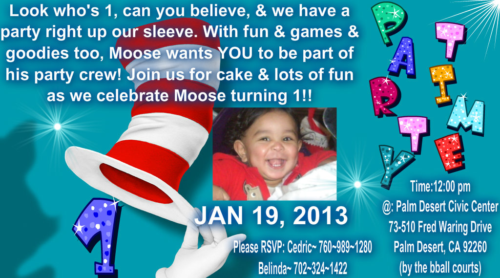 Mooses invites