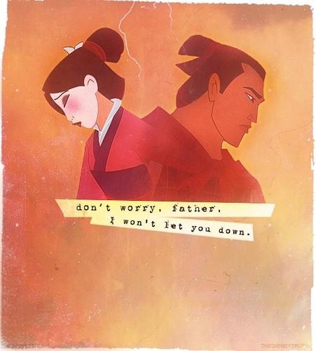 Mulan/ Shang parallel