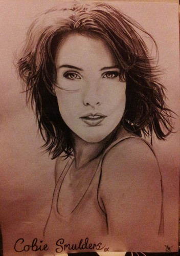 My Cobie Smulders drawing ;)