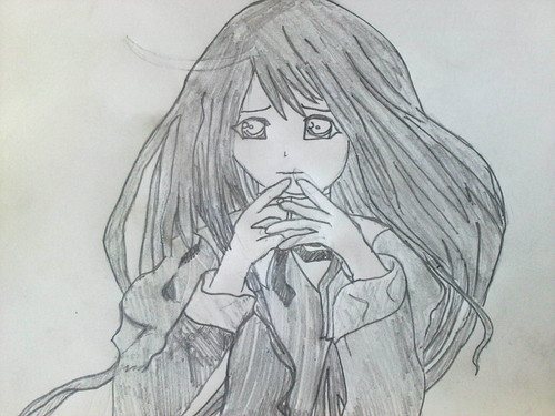 My Drawing- Аниме Girl