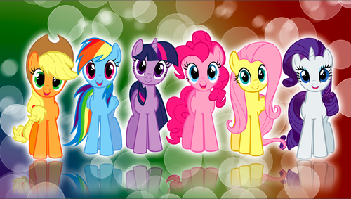 My Little pony Friendship is Magic achtergrond titled My Little pony Friendship is Magic