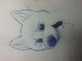 My first Bolt's drawing... - bolt-the-dog fan art