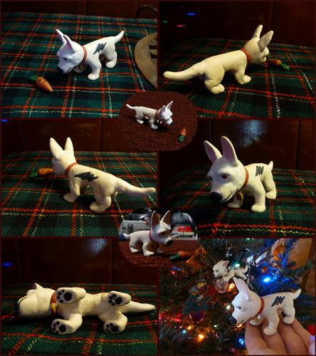 My hand-made Bolt ornament