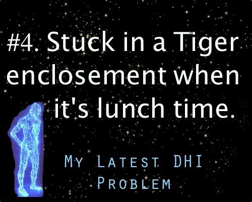 My latest dhi problem
