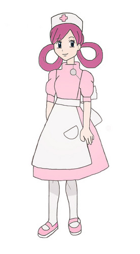 Pokémon achtergrond entitled NURSE JOY ISSHU