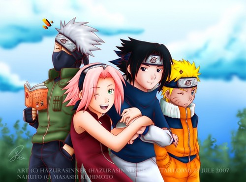 Anime wallpaper entitled Naruto - Team 7