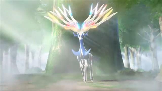 Xerneas - New Legendary of Pokémon X