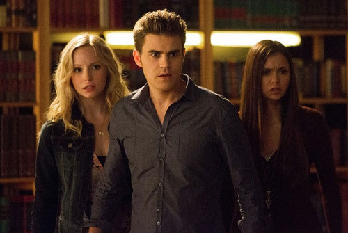 "New promotional stills for The Vampire Diaries 4x10: ""After School Special""."