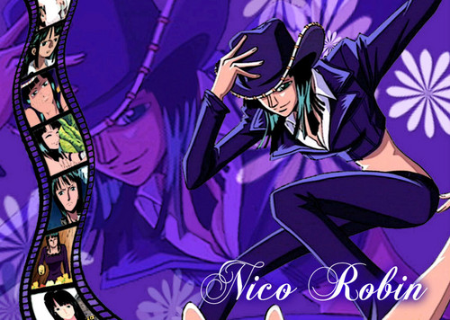 One Piece achtergrond containing anime called Nico Robin