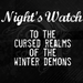 Night's Watch - a-song-of-ice-and-fire icon