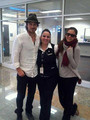Nina and Ian LAX January 6