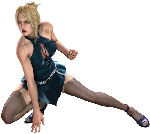 Tekken wallpaper containing tights called Nina
