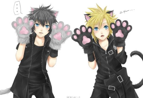 Noctis and बादल