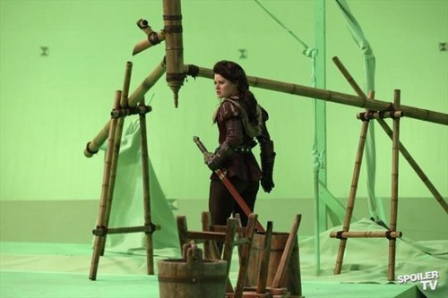 OUAT 2.11 - The Outsider - BTS Pics