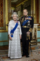 Official Diamond Jubilee portrait of クイーン Elizabeth II