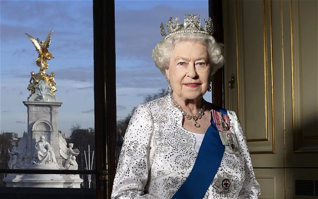 Official Diamond Jubilee portrait of Queen Elizabeth II