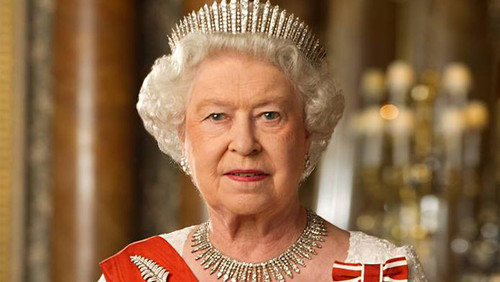 Queen Elizabeth II wallpaper entitled Official Diamond Jubilee portrait of Queen Elizabeth II