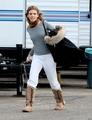 On set (December 18th) - 90210 photo