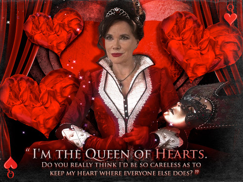 Once upon a time evil queen poster
