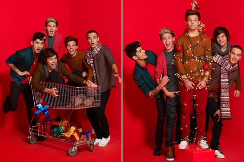 One Direction wallpaper entitled One-Direction-Christmas