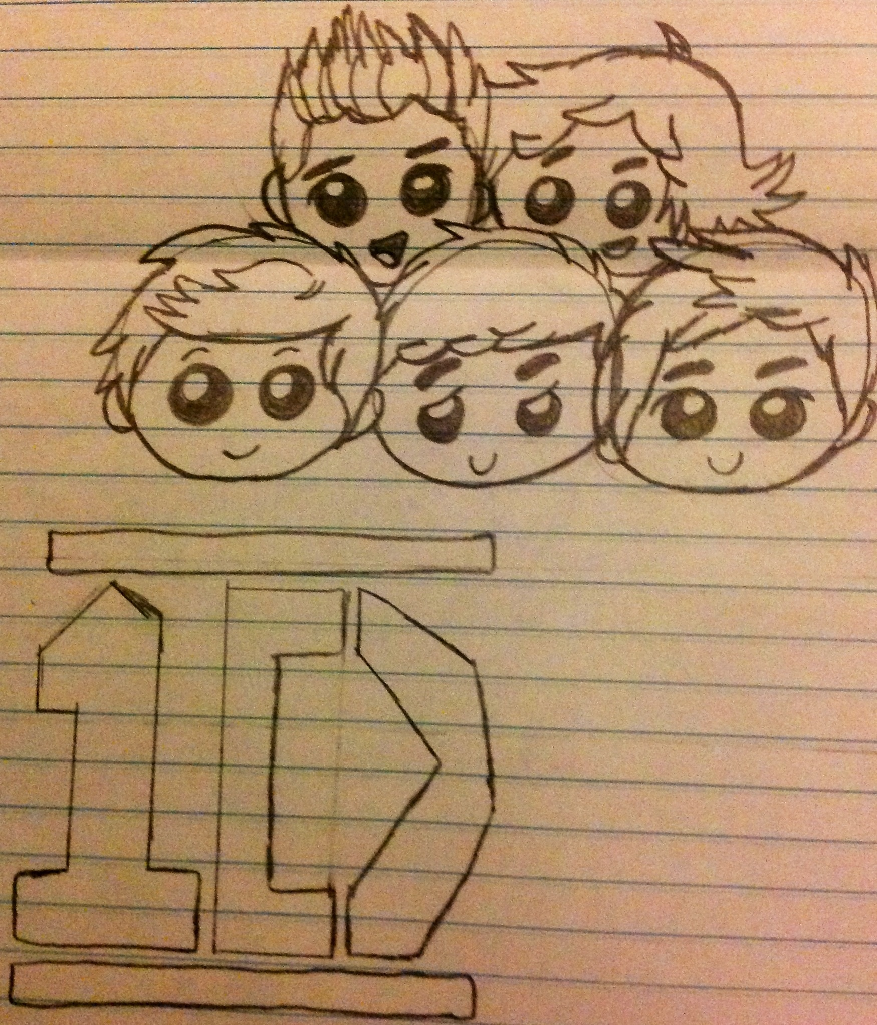 One direction Chibi