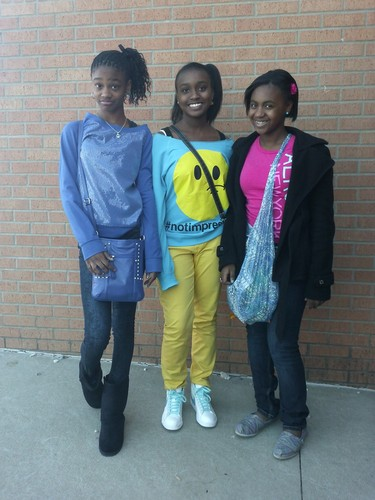 Our 1st 日 back at school after Chriatmas break looking fresh