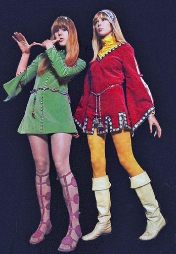 Jenny and Pattie Boyd