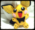 Pichu Felt Plush - pokemon photo
