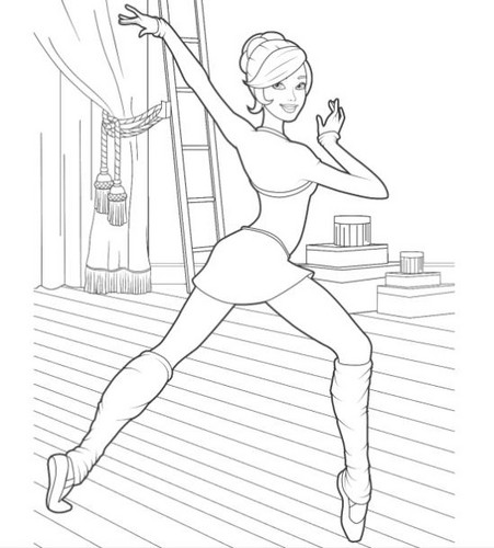 розовый Shoes Coloring Pages