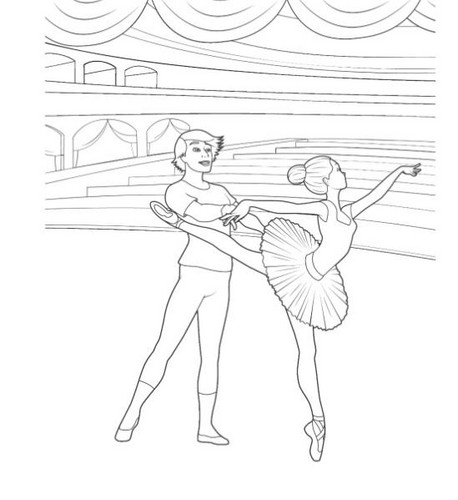 Pink Shoes Coloring Pages - barbie-in-the-pink-shoes Photo