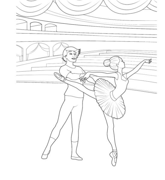 Barbie in the pink shoes coloring pages